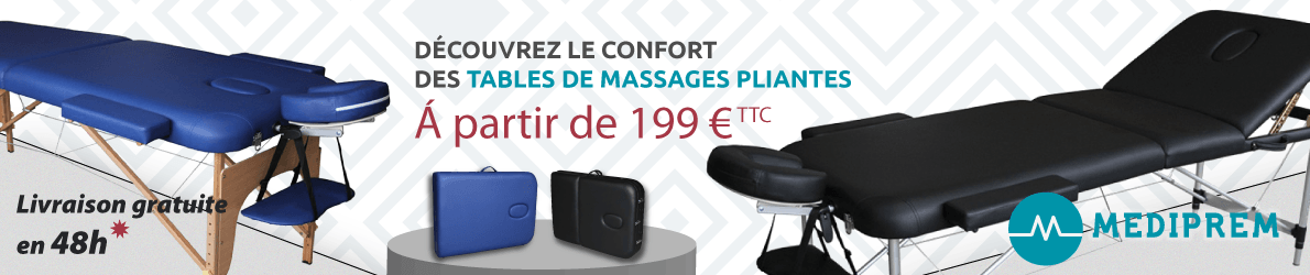 mediprem tables de massage des 199